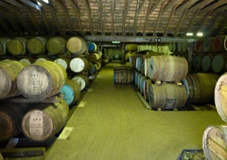 Benriach casks